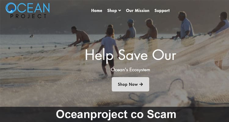 Oceanproject co Scam 2020