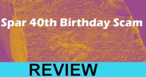 Spar 40th Birthday Review