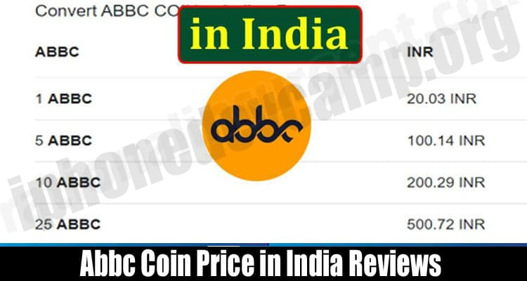 Abbc Coin Price in India Reviews
