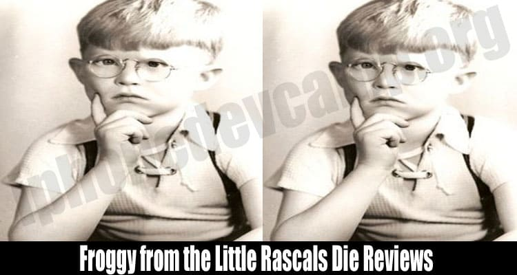 Froggy from the Little Rascals Die Reviews