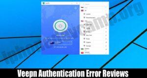 Veepn Authentication Error Reviews