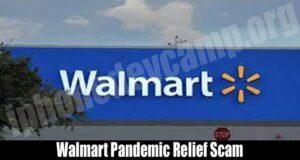 Walmart Pandemic Relief Scam