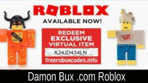 Damon Bux .com Roblox 2021