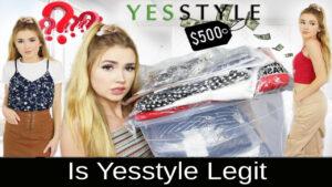 Is Yesstyle Legit 2021