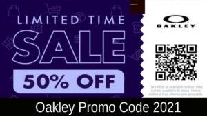 Oakley Promo Code 2021