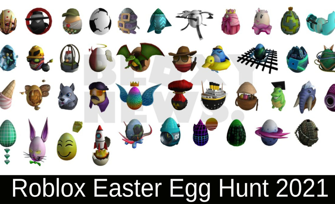 Roblox Easter Egg Hunt 2021