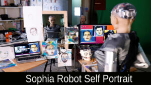 Sophia Robot Self Portrait 2021